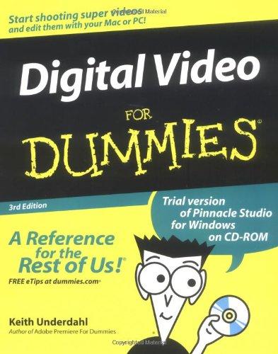 9780764541148: Digital Video for Dummies