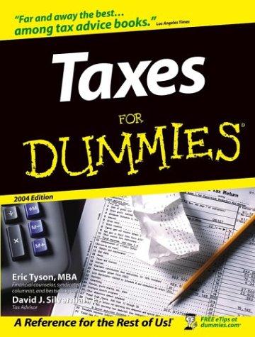 9780764541179: Taxes For Dummies