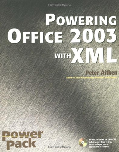 9780764541223: Powering Office 2003 with XML (Power Pack Series)