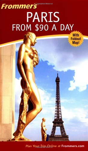 9780764541254: Frommers Paris from $90 a Day