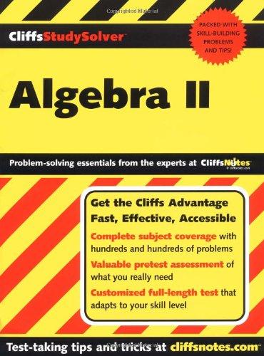 9780764541353: CliffsStudySolver Algebra II
