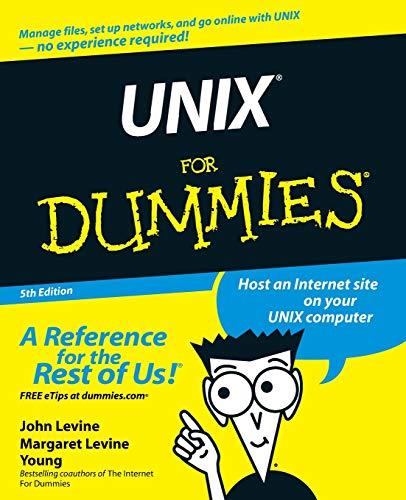 9780764541476: Unix for Dummies