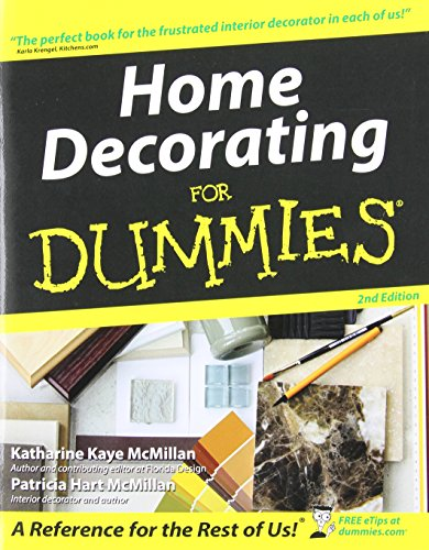 9780764541568: Home Decorating for Dummies