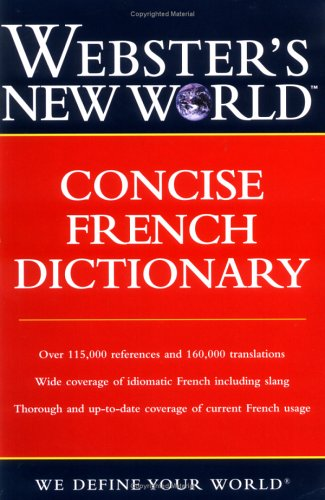 9780764541582: Webster's New World Concise French Dictionary