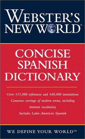 9780764541599: Webster's New World Concise Spanish Dictionary