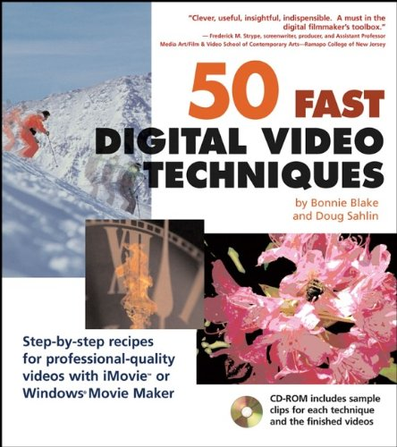 9780764541803: 50 Fast Digital Video Techniques