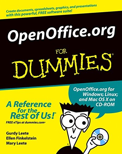 9780764542220: Openoffice.Org for Dummies