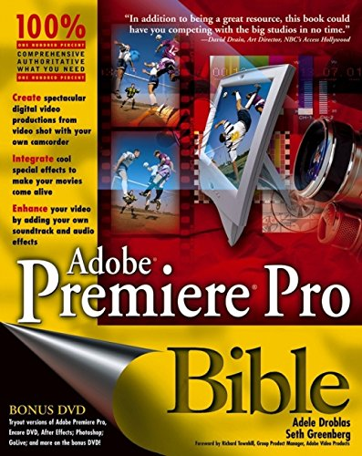 9780764542268: Adobe Premiere Pro Bible, with DVD