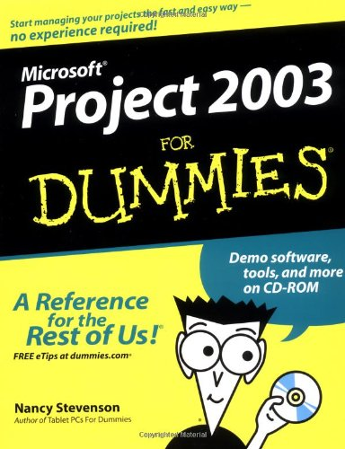 9780764542497: Microsoft Project 2003 For Dummies