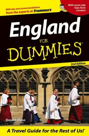 9780764542763: England For Dummies (Dummies Travel)
