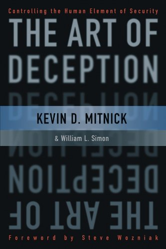 9780764542800: The Art of Deception : Controlling the Human Element of Security
