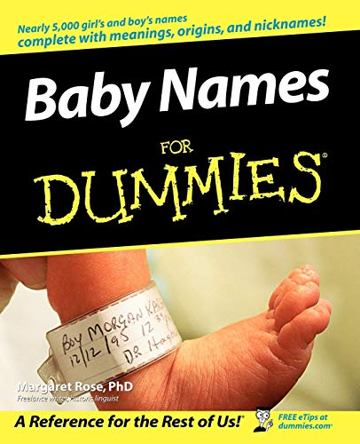 9780764543401: Baby Names For Dummies