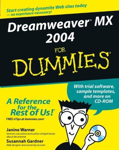 9780764543425: Dreamweaver MX 2004 for Dummies