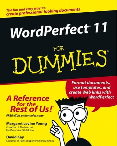 9780764543524: WordPerfect 11 For Dummies