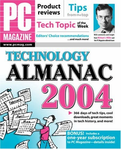 9780764543616: PC Magazine Technology Almanac 2004