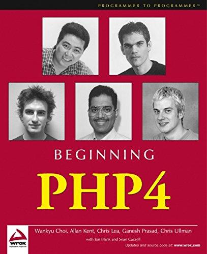 9780764543647: Beginning PHP4 (Programmer to Programmer)