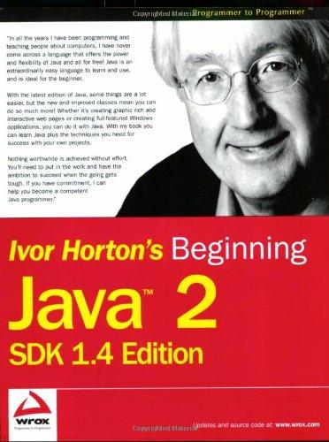9780764543654: Beginning Java 2: Sdk 1.4 Edition