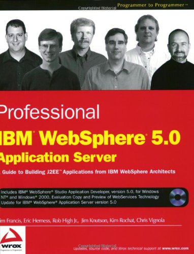 9780764543661: Professional IBM WebSphere 5.0 Application Server