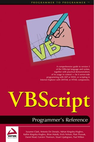 9780764543678: VBScript: Programmer's Reference