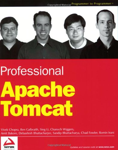 9780764543722: Professional Apache Tomcat