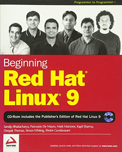 Beginning Red Hat Linux 9 (Programmer to: Bhattacharya, Sandip, De