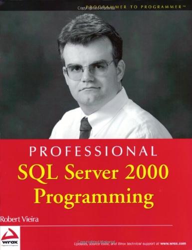 9780764543791: Professional SQL Server 2000 Programming