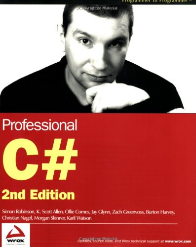 9780764543982: Professional C# (Programmer to Programmer)