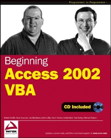 9780764544026: Beginning Access 2002 VBA