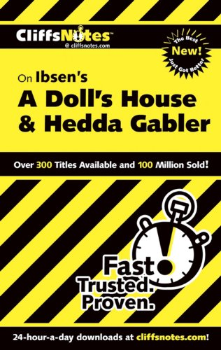9780764544569: Cliffsnotes on Ibsen's a Doll's House & Hedda Gabler