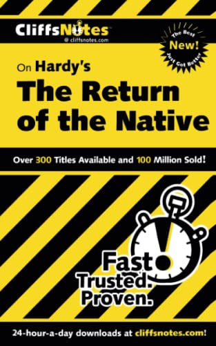 Cliffs Notes on Hardy's The Return of the Native.: Thompson, Frank H. (Thomas Hardy).