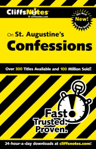 9780764544804: CliffsNotes on St. Augustine's Confessions (CLIFFSNOTES LITERATURE)