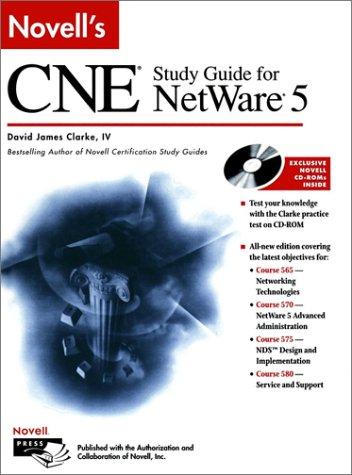 9780764545436: Novell's CNE? Study Guide for NetWare? 5