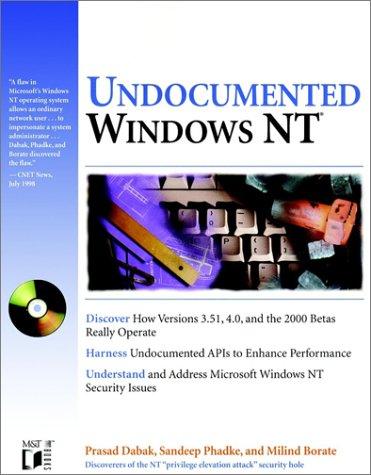 9780764545696: Undocumented Windows Nt