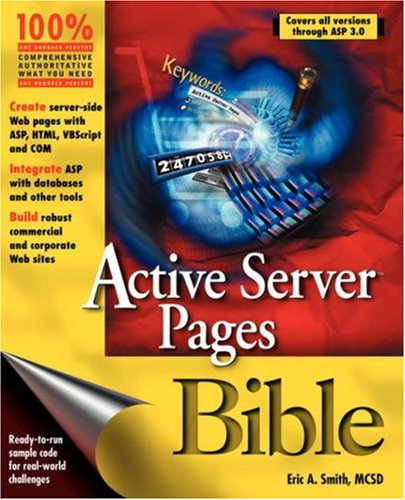 9780764545993: Active Server Pages Bible