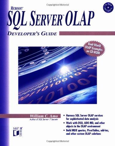 9780764546433: Microsoft SQL Server OLAP Developer's Guide