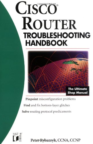 9780764546471: Cisco Routers Troubleshooting Handbook