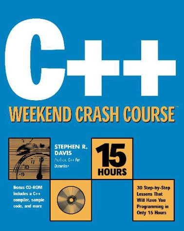 9780764546891: C++ Weekend Crash Course