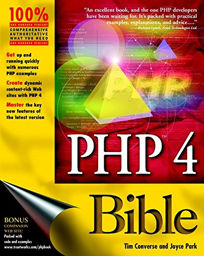 9780764547164: PHP 4 Bible (Bible (Wiley))