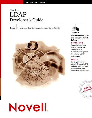 Novell's LDAP Developer's Guide: Harrison, Roger G.,