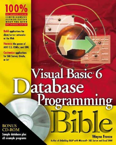 9780764547287: Visual Basic 6 Database Programming Bible