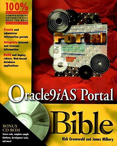 9780764547492: Oracle9Ias Portal Bible