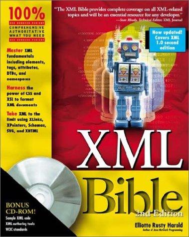 XML Bible (0764547607) by Harold, Elliotte Rusty