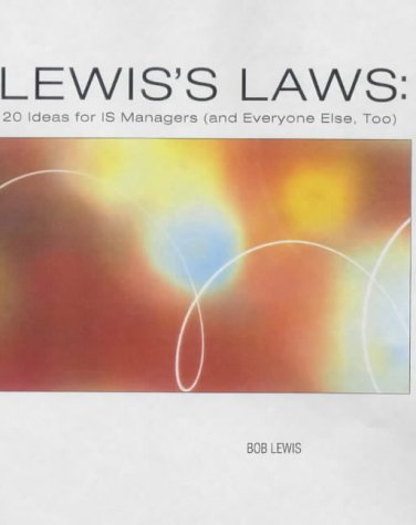 9780764547805: Lewis's Laws: Rules for it in the Person-to-personenterprise