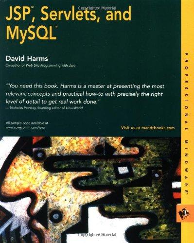 9780764547874: JSP, Servlets and MySQL