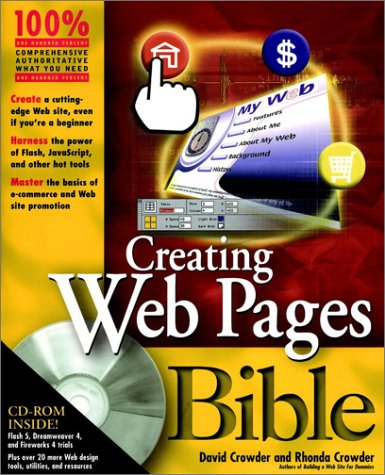 9780764547911: Creating Web Pages Bible