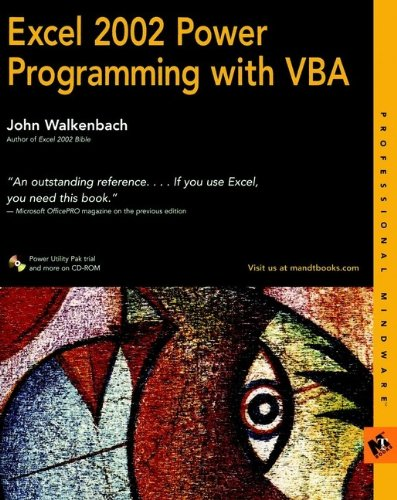 9780764547997: Excel 2002 Power Programming with VBA (Computing)