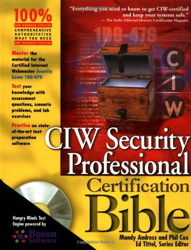 9780764548222: CIW Security Professional Certification Bible