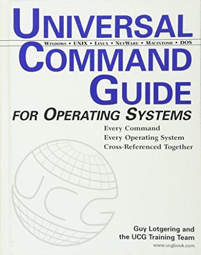 9780764548338: Universal Command Guide: for Operating Systems (Computer Science)