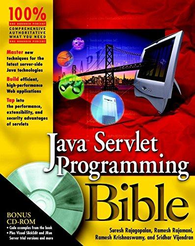 Java Servlet Programming Bible (With CD-ROM): Suresh Rajagopalan, Ramesh