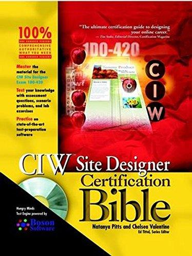 9780764548413: CIW Site Designer Certification Bible